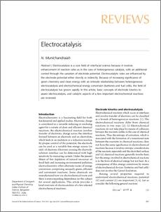 Electrocatalysis ePrints@IISc